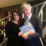 Photo avec Alain Stanké, un ami et mon mentor dans l'industrie du livre.