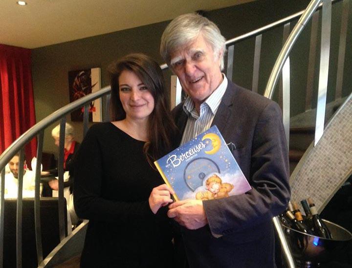 Photo avec Alain Stanké, un ami et un mentor dans l'industrie du livre.